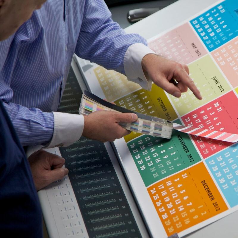 Kalendāru druka ofseta tehnoloģijā